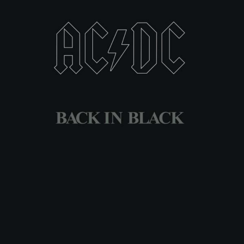 AC/DC - Back In Black 앨범이미지