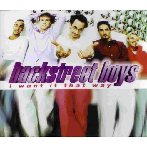 Backstreet Boys - I Want It That Way 앨범이미지