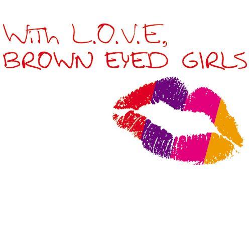 브라운아이드걸스 - With L.O.V.E Brown Eyed Girls 앨범이미지