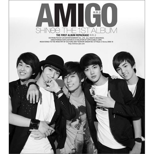 SHINee (샤이니) - SHINee The First Album (Repackage) - Amigo 앨범이미지
