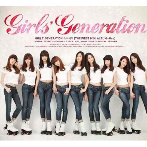 소녀시대 (GIRLS` GENERATION) - The First Mini Album `Gee` 앨범이미지
