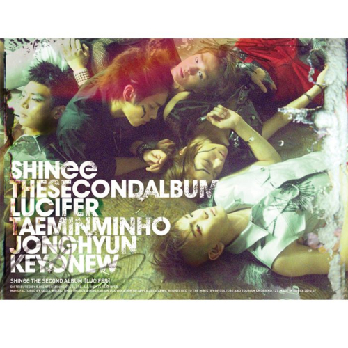 SHINee (샤이니) - The 2nd Album 'Lucifer' 앨범이미지