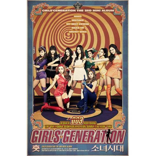 소녀시대 (GIRLS` GENERATION) - `훗 (Hoot)` The 3rd Mini Album 앨범이미지