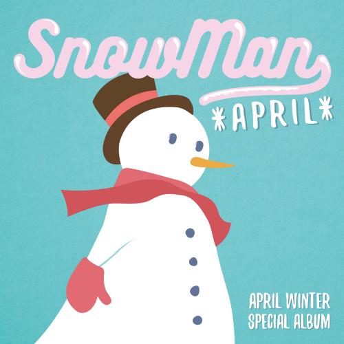 에이프릴 (APRIL) - 에이프릴(APRIL) Winter Special Album `Snowman` 앨범이미지