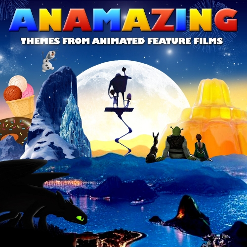 L`Orchestra Cinematique - Anamazing - Themes from Animated Feature Films 앨범이미지