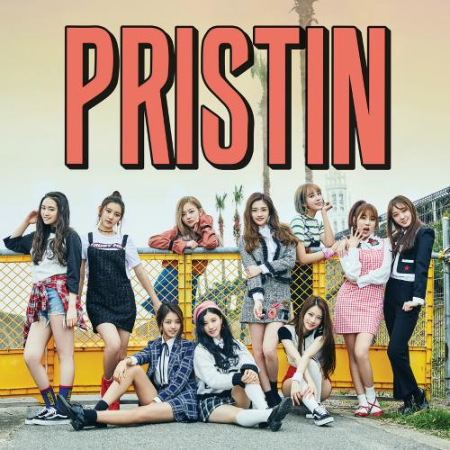 PRISTIN (프리스틴) - The 1st Mini Album `HI! PRISTIN` 앨범이미지