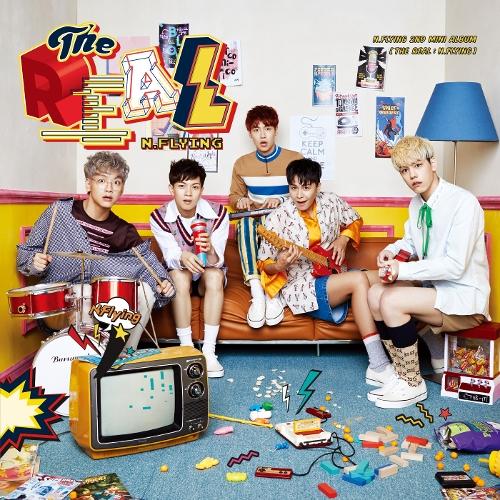 엔플라잉 (N.Flying) - N.Flying 2nd Mini Album `THE REAL : N.Flying` 앨범이미지