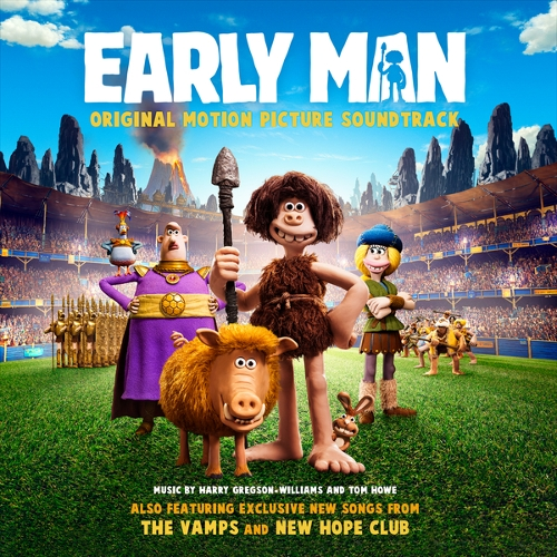 New Hope Club - Early Man (Original Motion Picture Soundtrack) 앨범이미지