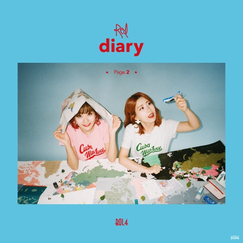 볼빨간사춘기 - Red Diary Page.2 앨범이미지