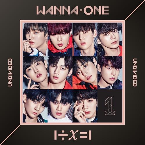 Wanna One (워너원) - 트리플포지션 - 1÷χ=1 (UNDIVIDED) 앨범이미지