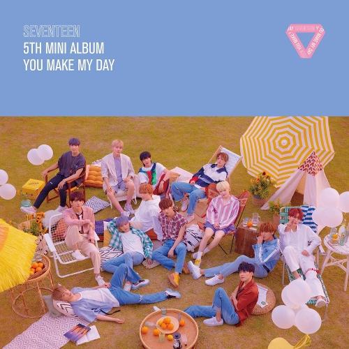 세븐틴 - SEVENTEEN 5TH MINI ALBUM `YOU MAKE MY DAY` 앨범이미지