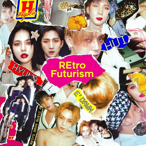 트리플 H (현아, 펜타곤 (후이, 이던)) - REtro Futurism 앨범이미지