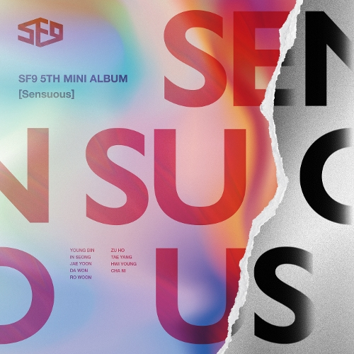 SF9 - SF9 5th Mini Album [Sensuous] 앨범이미지