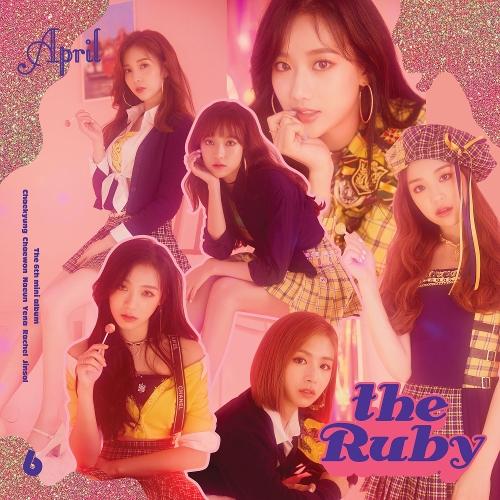 에이프릴 (APRIL) - 에이프릴(APRIL) 6th Mini Album `the Ruby` 앨범이미지