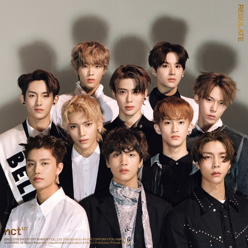 NCT 127 - NCT #127 Regulate - The 1st Album Repackage 앨범이미지