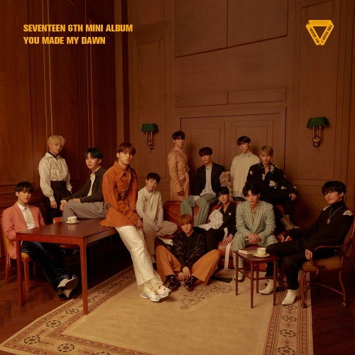 세븐틴 - SEVENTEEN 6TH MINI ALBUM `YOU MADE MY DAWN` 앨범이미지