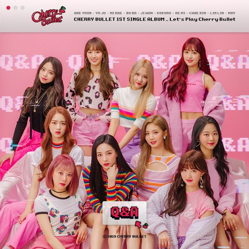 체리블렛 (Cherry Bullet) - Cherry Bullet 1st Single Album Let's Play Cherry Bullet 앨범이미지