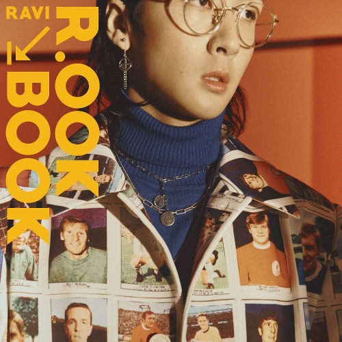 라비(RAVI) - RAVI 2nd MINI ALBUM [R.OOK BOOK] 앨범이미지