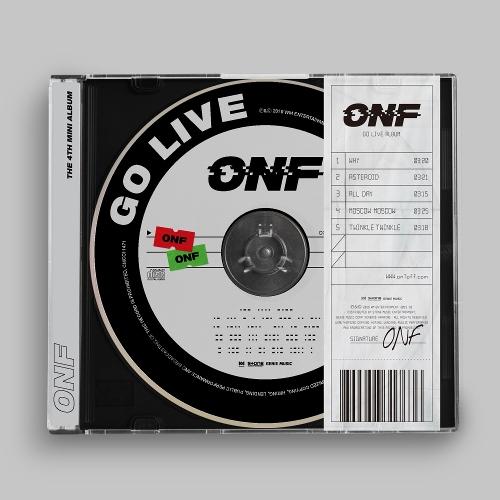 온앤오프 (ONF) - GO LIVE 앨범이미지