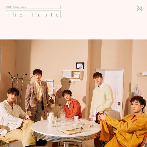 뉴이스트 - The 7th Mini Album 'The Table' 앨범이미지