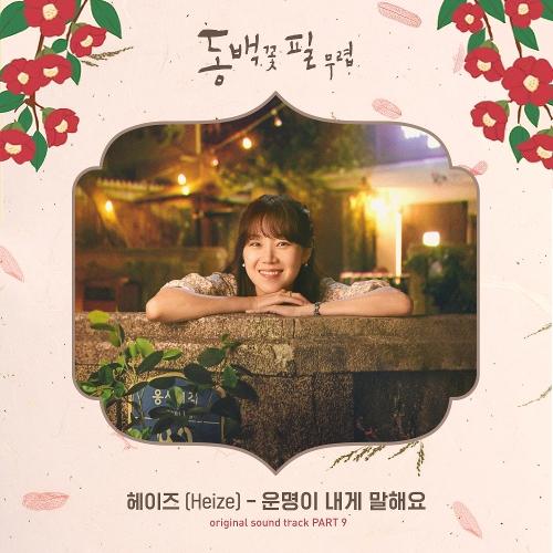 헤이즈 (Heize) - 동백꽃 필 무렵 (KBS2 수목드라마) OST - Part.9 앨범이미지