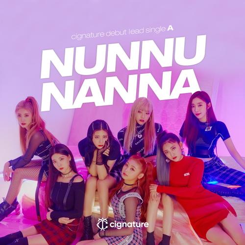 시그니처 (cignature) - cignature debut lead single A 'NUN NU NAN NA' 앨범이미지