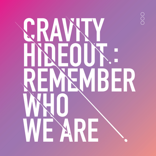 CRAVITY - HIDEOUT: REMEMBER WHO WE ARE - SEASON1. 앨범이미지