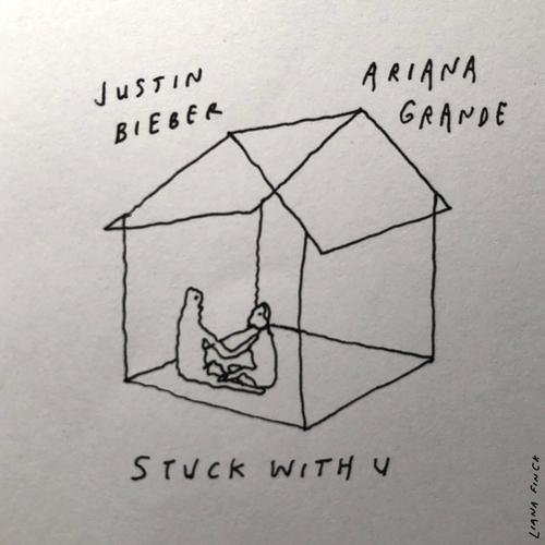 Ariana Grande - Stuck with U 앨범이미지