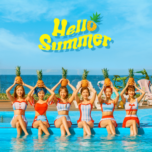 에이프릴 (APRIL) - 에이프릴(APRIL) Summer Special Album 'Hello Summer' 앨범이미지
