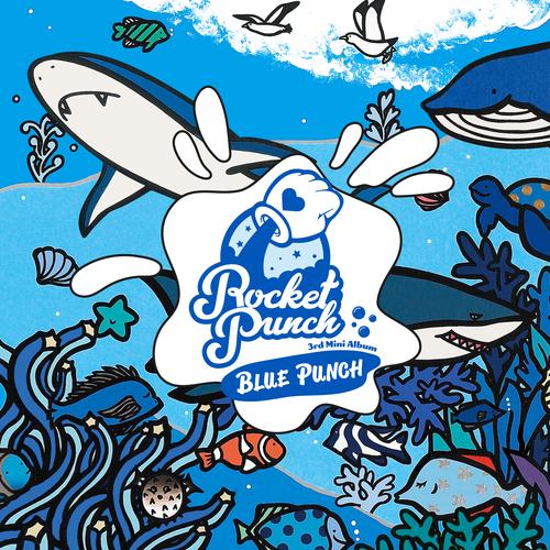 로켓펀치(Rocket Punch) - BLUE PUNCH 앨범이미지
