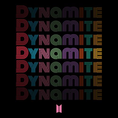 방탄소년단 - Dynamite 앨범이미지