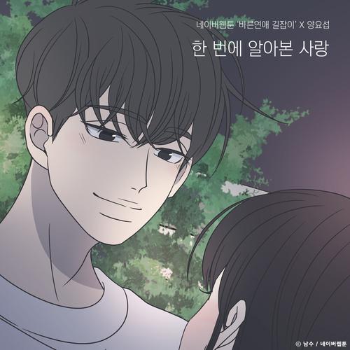 양요섭 - 한 번에 알아본 사랑 (바른연애 길잡이 X 양요섭) 앨범이미지