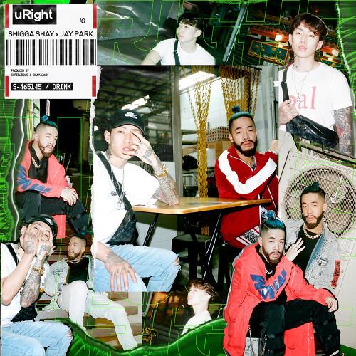 Shigga Shay - uRight (Feat. Jay Park) 앨범이미지