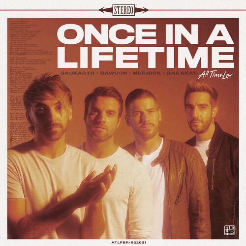 All Time Low - Once In A Lifetime 앨범이미지